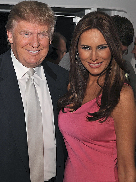 Donald Trump, Melania Trump, Parejas disparejas