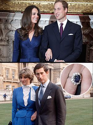 Prince William, Kate Middleton, Lady Diana, Prince Charles