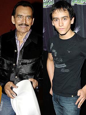 Joan Sebastian y su hijo Julián