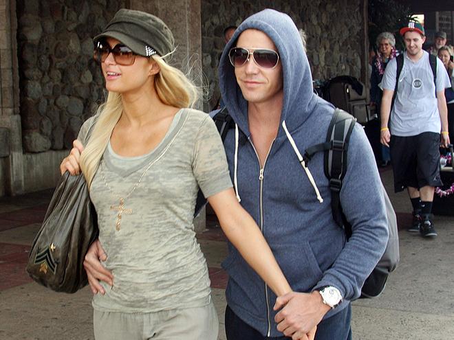 Paris Hilton, Cy Waits