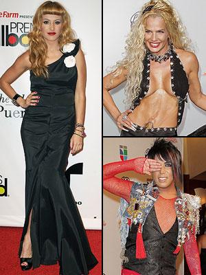 Peor vestidos 2010