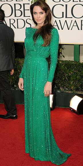 Angelina Jolie, Golbes Globes 2011