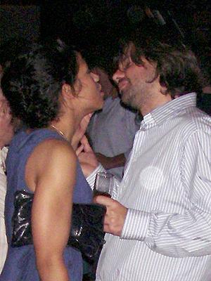 Antonio de la Rúa divirtiéndose en Nueva York en octubre del 2007