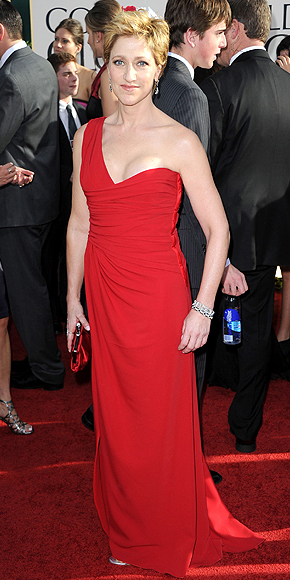Edie Falco, Golden Globes 2011