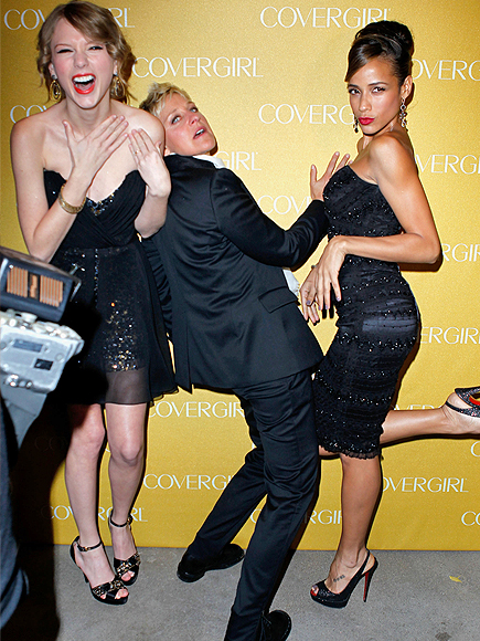 Ellen Degeneres, Taylor Swift, Dania García