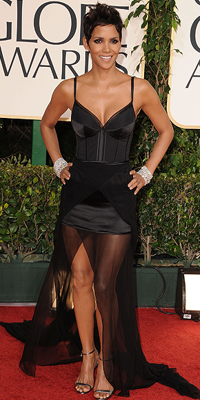 Halle Berry, Golden Globes 2011