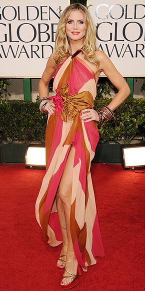 Heidi Klum ,Golden Globes 2011