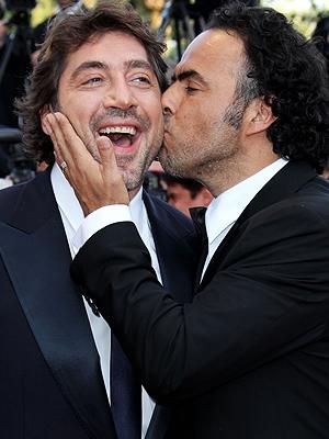 Javier Bardem y Alejandro González Iñarritu