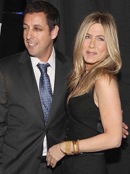 Jennifer Aniston, Adam Sandler