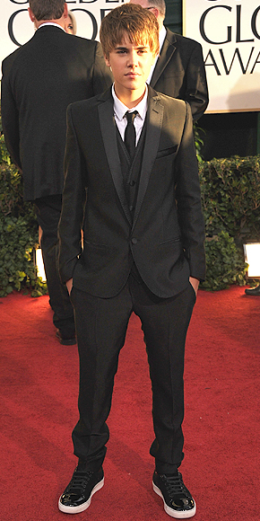 Justin Bieber, Golbes Globes 2011