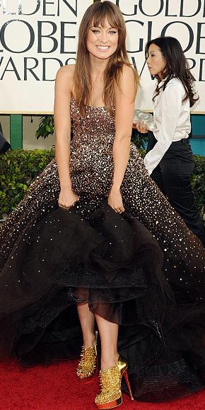 Olivia Wilde, Goldeb Globes 2011