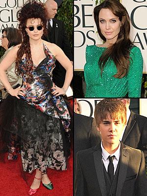 Peor vestidos Golden Globes 2011