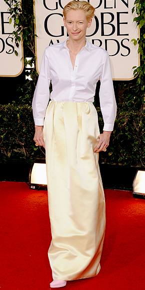 Tilda Swinton, Golden Globes 2011