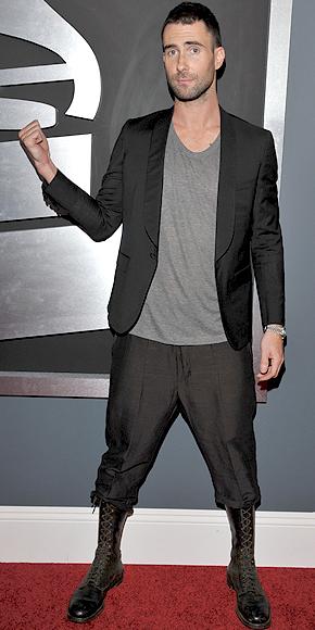 Adam Levine, GRAMMY 2011