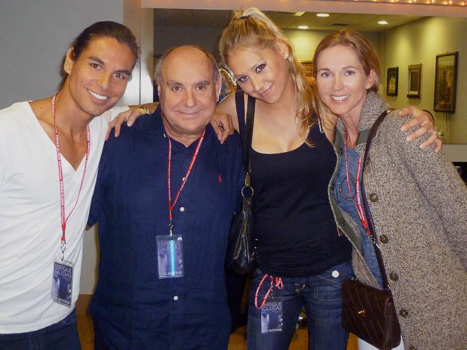 Julio Iglesias Jr., Enrique Iglesias, Miranda Rijnsburger