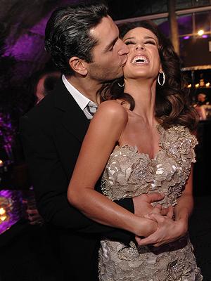 Jackie Bracamontes y su novio