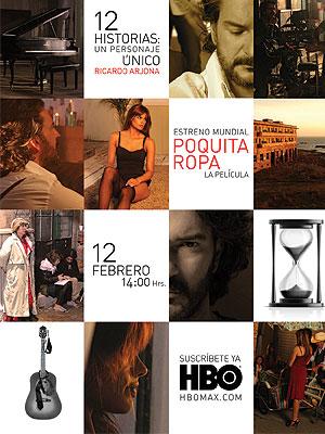 """Ricardo Arjona estrena la película """"Poquita ropa"""""""