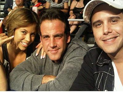 Ximena Duque, Carlos Ponce y Alejandro Chabán