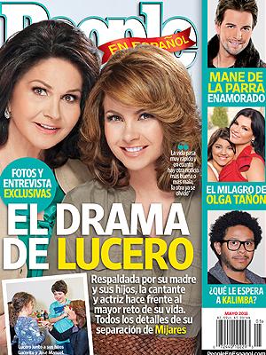 El drama de Lucero, edición de Mayo de PEOPLE EN ESPAÑOL