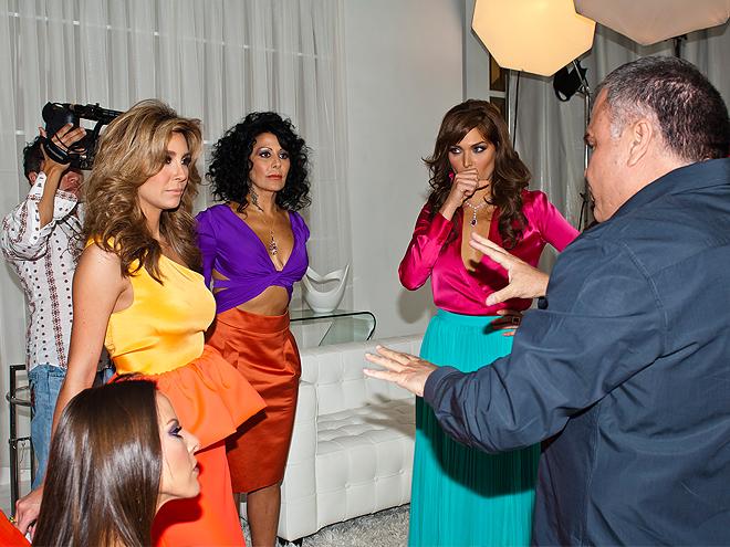 Bellos 2011, Behind the scenes, Alejandra Guzmán, Blanca Soto, Elizabeth Guitérrez