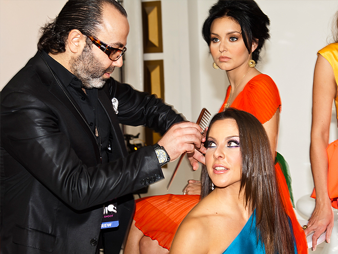 Bellos 2011, Behind the scenes,Kate del Castillo, Christo