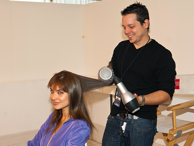 Bellos 2011, Behind the scenes, Blanca Soto