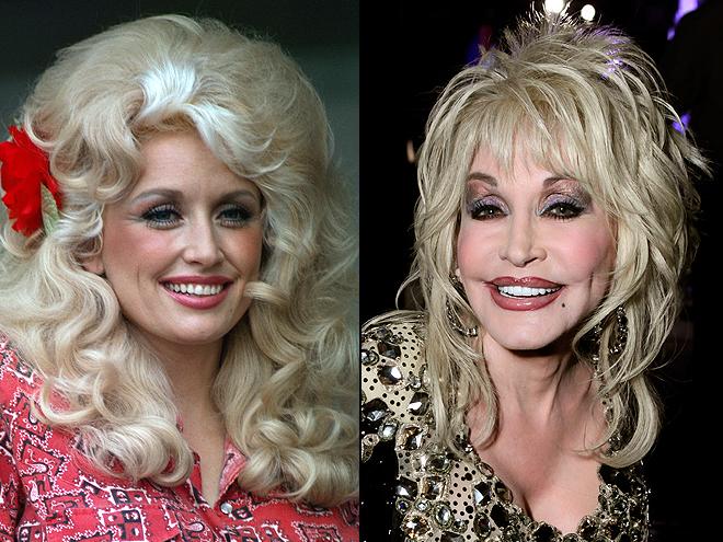 Dolly Parton, Cómo los cambió la cirugía