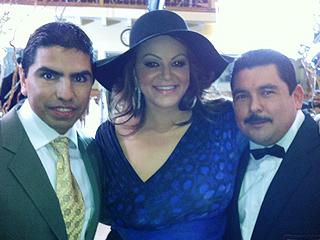 "Piolín, Jenni Rivera y Guillermo del ""Jimmy Kimmel Show"" en final de ""Eva Luna"""
