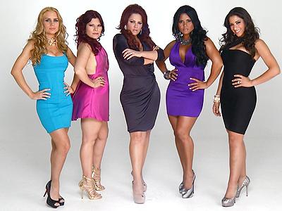 Estefanía Colombo, Diana Reyes, Sonia Sosa, Maripily y Jazmín López en Latina VIP
