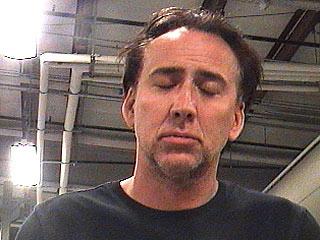 Mugshot de Nicolas Cage