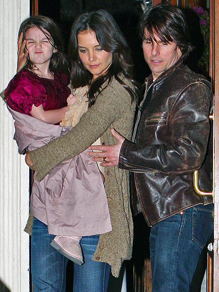 Tom Cruise, Katie Holmes, Suri Cuise