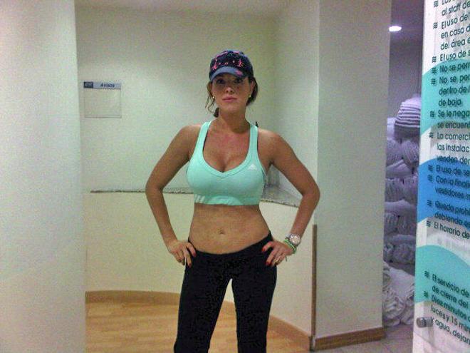 Alicia Machado, Cuerpazos en twitter