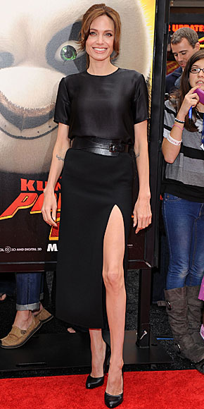ANGELINA JOLIE, el look