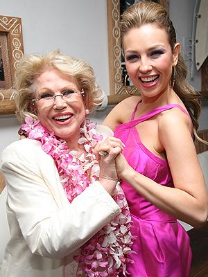 Thalía y su madre, Yolanda Miranda