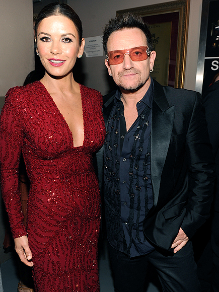 Catherine Zeta-Jones, Bono