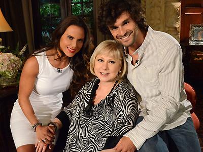 Kate del Castillo, Cristina Saralegui, Iván Sánchez
