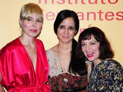 Ely Guerra, Julieta Venegas y Natalia Lafourcade en París