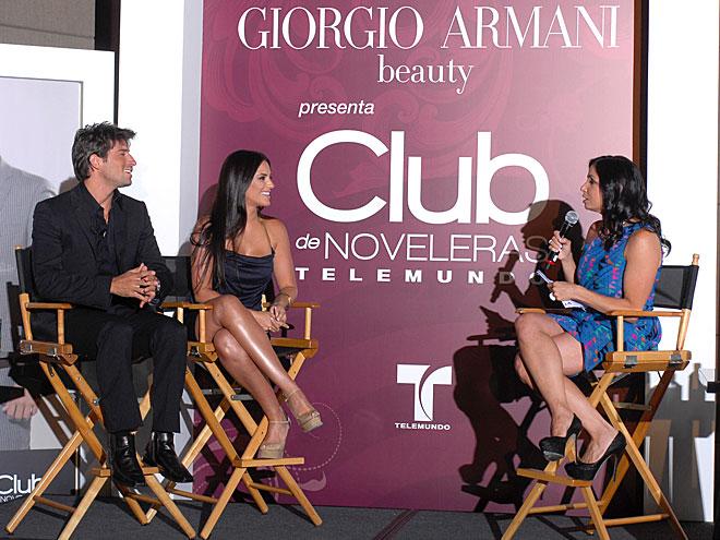 Gaby Espino, David Chocarro, Johanna Torres