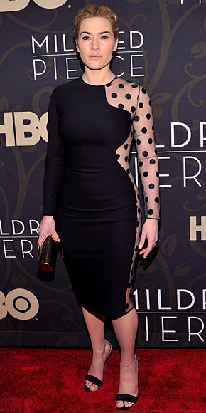 KATE WINSLET, El look