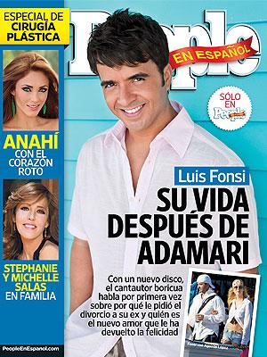 Luis Fonsi en la portada de PEOPLE en Español