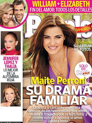 Maite Perroni en la edición de julio de PEOPLE EN ESPAÑOL