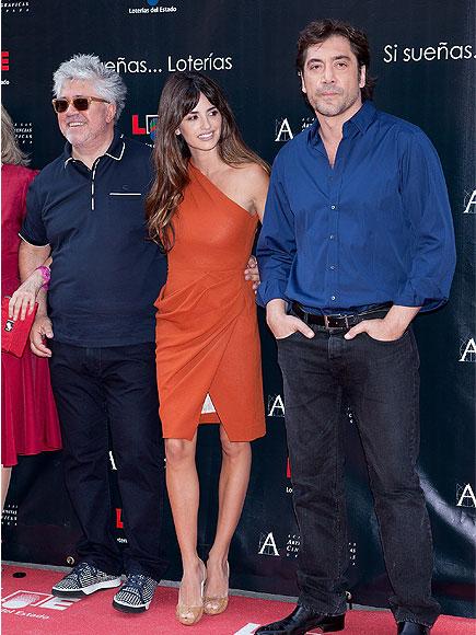Penélope Cruz, Javier Bardem, Pedro Almodóvar