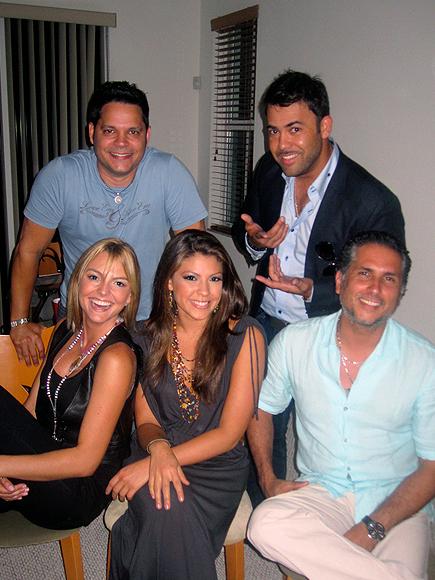 Marjorie de Sousa, Rey Ruiz, Nicole Suarez, Rogelio Martinez y Marlon Moreno