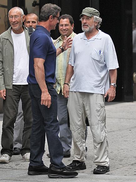 Sylvester Stallone, Robert De Niro