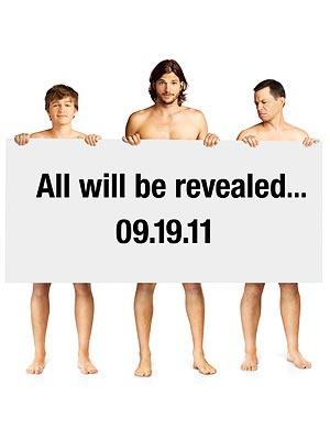 Afiche promocional de Two and a Half Men