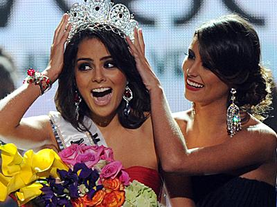 Miss México Ximena Navarrete es Miss Universo 2010