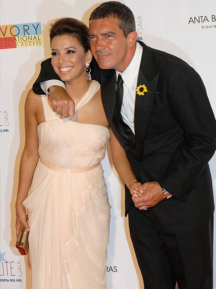Antonio Banderas, Eva Longoria