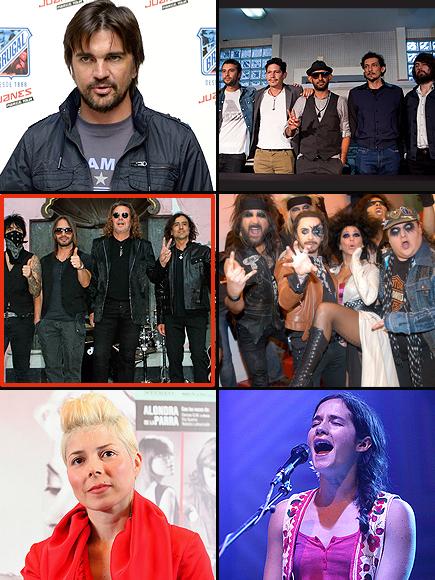 Premios People en Espa;ol 2011, Música, Cantante o Grupo Rock