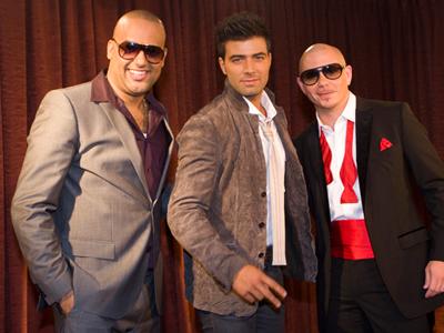 El Cata, Jencarlos Canela y Pitbull