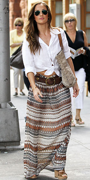 MINKA KELLY, Maxi skirt